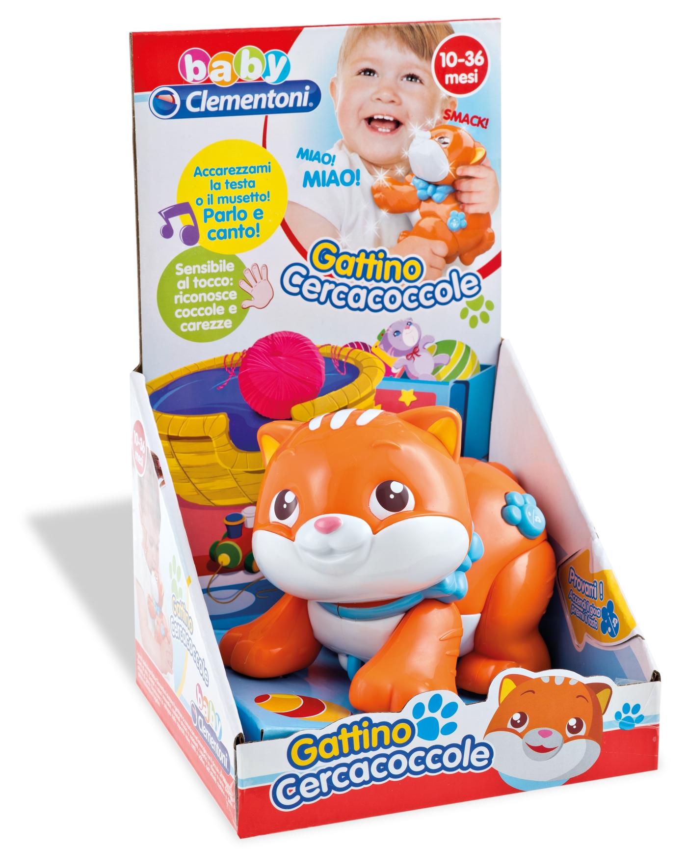 c3f7d84e26 baby clementoni gattino cercacoccole - CirinaroShopCirinaroShop