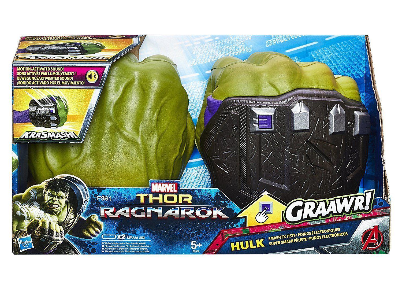 Hulk pugni elettronici. Marvel Thor Ragnarok CirinaroShop