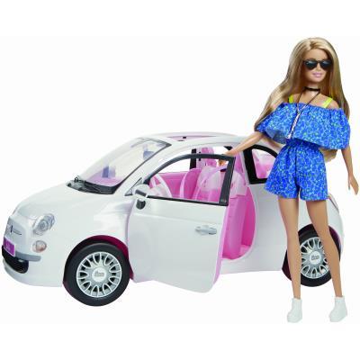 Mattel Fiat 500 Barbie FVR07 2018 - CirinaroShopCirinaroShop