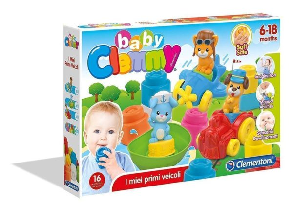 BABY CLEMENTONI BABY CLEMMY VEHICLES SET CIRINARO