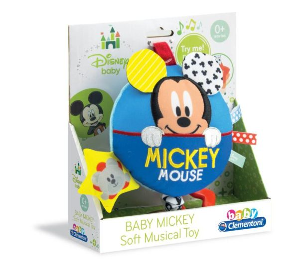 BABY CLEMENTONIO DISNEY BABY BABY MICKEY SOFT MUSICAL TOY CIRINARO 1