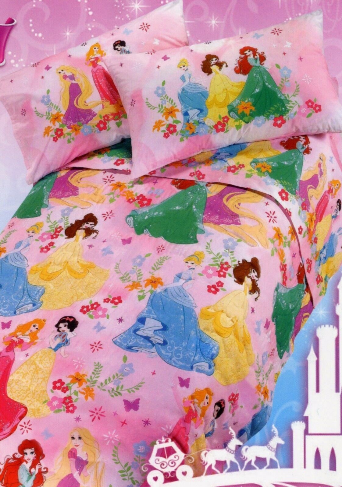 Lenzuola Delle Principesse Disney.Caleffi Lenzuola Disney Princess Cirinaroshop