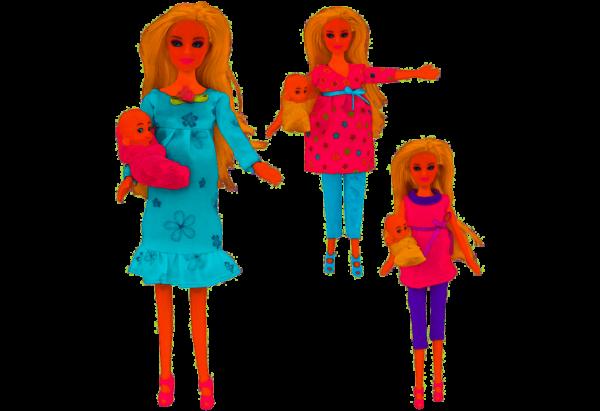 globo bambola incinta cirinaro